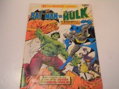 "Dc / Marvel ""Batman Vs The Incredible Hulk"" - ""The Monster And The Madman - 1981"