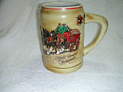 Budweiser - Cs74 - 1987 World Famous Clydesdales Stein