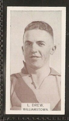 Wills Australian-Aussie Rules Footballers 1933-#183- Williamstown - L Drew