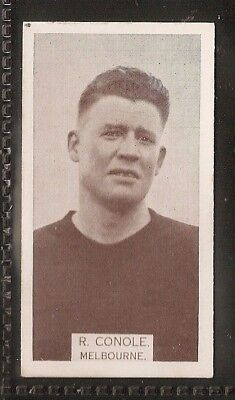 Wills Australian-Aussie Rules Footballers 1933-#193- Melbourne - R Conole