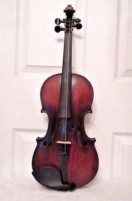 Antique 1900's French Lamy 4/4 Violin / After Nicolaus Gagliano