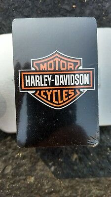Harley Davidson Playing Cards with collector tin