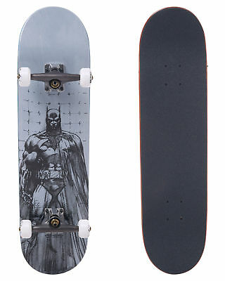 New Almost Skate Batman Jim Lee 8 Complete Skateboard Skateboarding White