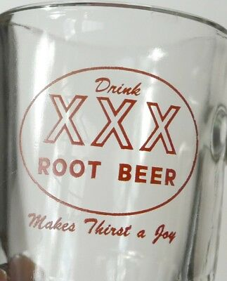 Old, Drink XXX  Root Beer, Papa Size. Soda Mug, Giant C Handle, Excellent