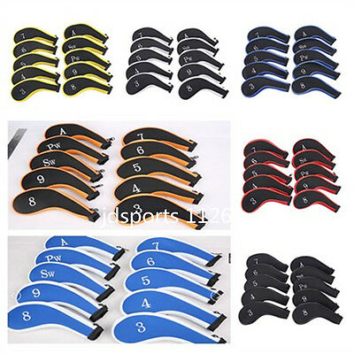 10X Neoprene Golf Club Headcover Zipper Iron cover for Vapor Pro XHOT Taylormade