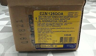 Square D QO Circuit Breaker Adapter Kit EZM125QOA 125A (Series M01)