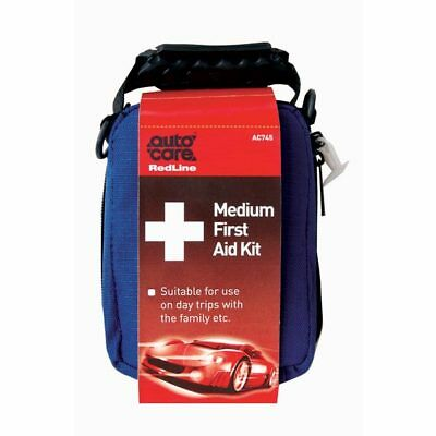 Autocare First Aid Kit Pouch Travelling Abroad Pasters Wipes Emergency