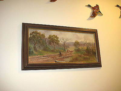 Lovely old signed J F Norton oil painting dated 1901