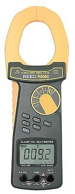 REED Instruments R5060 True RMS AC/DC Clamp Meter, 2000A