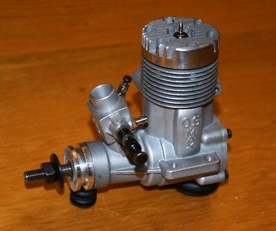 1980 OS 50 FSR RC model airplane engine vintage .50 Japan motor glow max 4D carb