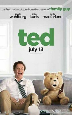TED great original D/S 27x40 movie poster (s01)