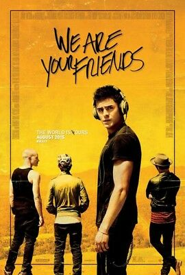 WE ARE YOUR FRIENDS great original D/S 27x40 movie poster (s01)
