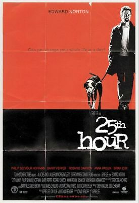 25th HOUR great original 27x40 D/S movie poster (s01)