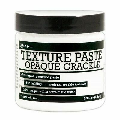 Ranger Texture Paste Opaque Crackle - 116ml - FAST 'N FREE