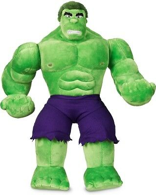 Incredible Hulk Medium Soft Toy Swivel Arms Fluffy Hair Plush Stuffed Kids Play