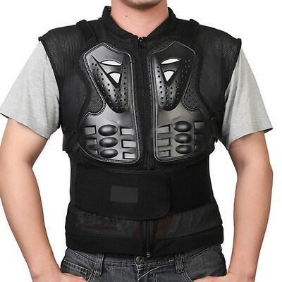 Motorcycle Jacket Motorcross Racing Chest Back Protector Gear Racing Protection