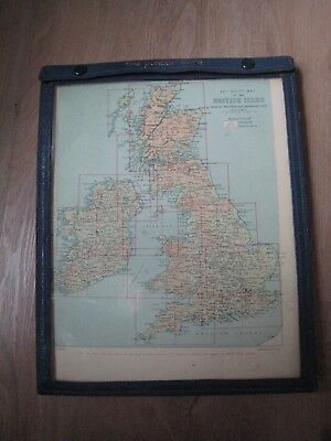 Road map DUNLOP MAPS Key route map of the British Isles