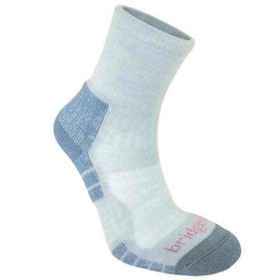 Bridgedale Woolfusion Trail Light Womens Underwear Walking Socks - Grey Smokey