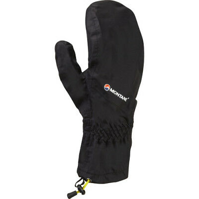 Montane Minimus Mens Gloves Outdoor Mitts - Black All Sizes