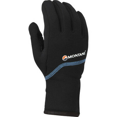 Montane Powerstretch Pro Grippy Womens Gloves - Black All Sizes