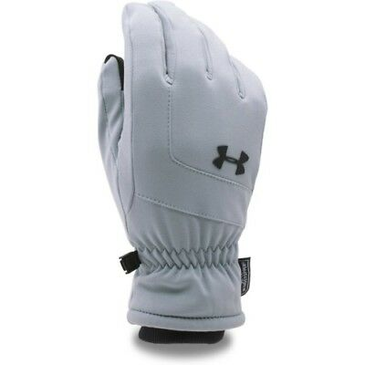 Under Armour Gore Windstopper Mens Gloves - Steel All Sizes