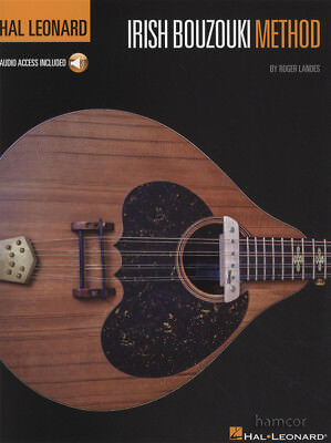 Hal Leonard Irish Bouzouki Method TAB Music Book/Audio Learn to Play Beginner