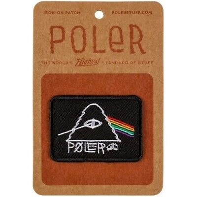 Poler Outdoor Stuff Iron On Unisex Accessory Patch - Psychedelic One Size
