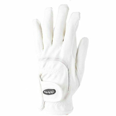 Toggi Hexham Performance Unisex Gloves Competition Glove - White All Sizes