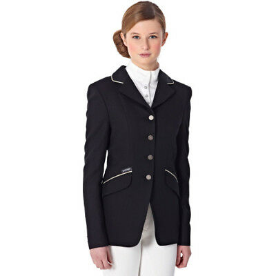 Just Togs Mizz Childs Beverley Kids Jacket Competition Jackets - Black All Sizes