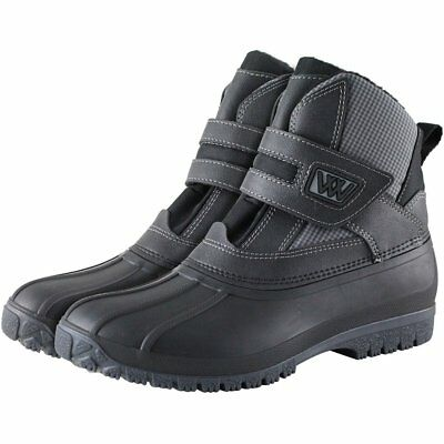 Woof Wear Adults Short Unisex Boots Yard - Black All Sizes