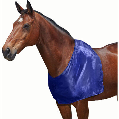 Weatherbeeta Satin Unisex Horse Rug Shoulder Guard - Navy All Sizes
