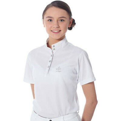 Just Togs Mizz Dazzle Kids Shirt Competition - White All Sizes