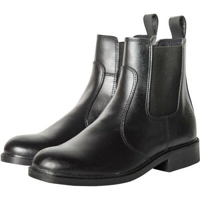 Derby House Classic Pull On Womens Boots Jodhpur - Black All Sizes