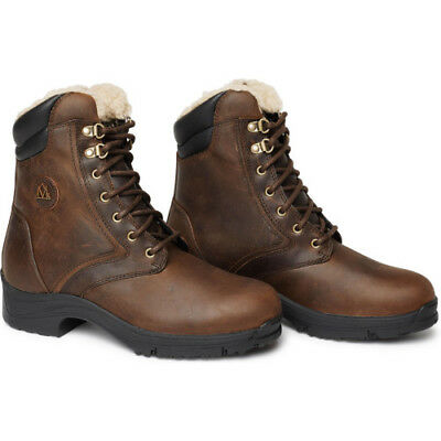 Mountain Horse Women's Snowy River Lace Womens Boots Paddock - Brown All Sizes
