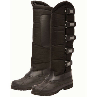 Dublin Childs Yardmaster Tall Touch Tape Kids Boots Yard - Black All Sizes