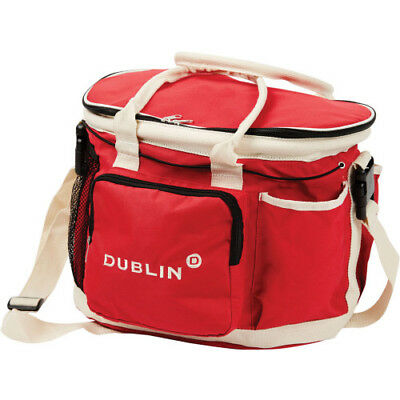 Dublin Imperial Unisex Horse Care Grooming Bag - Red One Size