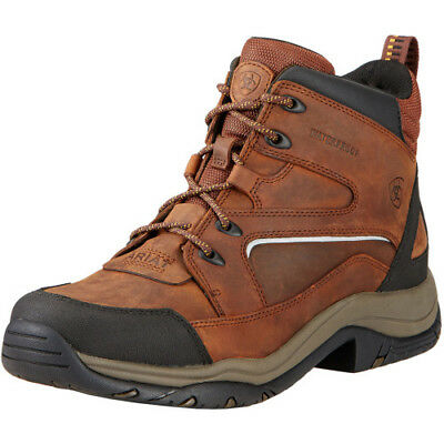 Ariat Mens Telluride Ii H20 Boots Short Riding - Copper All Sizes