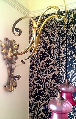 Arts & Crafts /Art Nouveau  Double Wall Light / Lamp in the Manner of WAS Benson