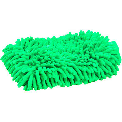 Roma Microfibre Wash Unisex Horse Care Grooming Mitt - Lime One Size