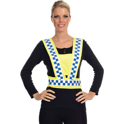 Equisafety Polite Body Unisex Safety Wear Reflective Harness - Yellow One Size
