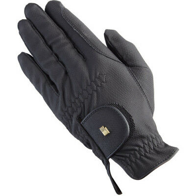 Roeckl Chester Unisex Gloves Competition Glove - Black All Sizes