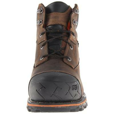 Timberland 5420 Mens Brown Composite Toe Work Boots Shoes 9 Wide (E) BHFO