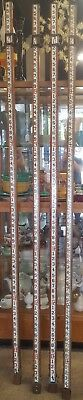 Double sided John Woods made in Canada MEASURING ROD SURVEY STICK free shipping