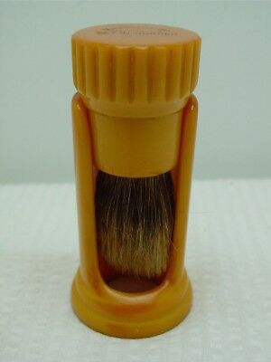 Vintage Bakelite/Catalin Ever Ready Shaving Brush with Holder-Stand-U.S.A.