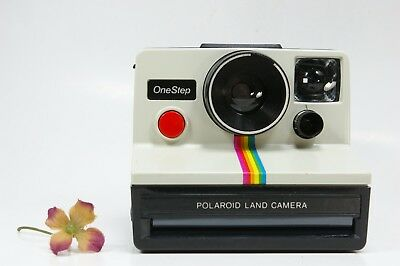 Polaroid One Step Rainbow SX-70 Instant Camera Tested