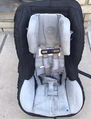 Orbit Baby G2 Black Toddler Car Seat With Side Braces EXP 2020