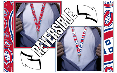 Montreal Canadiens Lanyard, Reversible