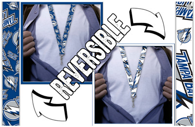 Tampa Bay Lightning Lanyard, Reversible