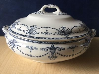 Losol Ware Bowness Vintage Tureen Blue & White