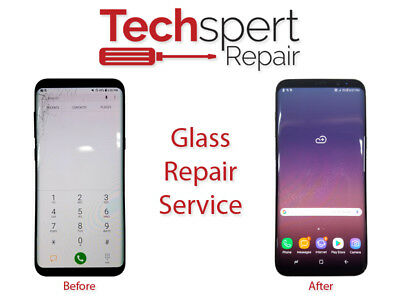 iPhone 8 Cracked Glass Broken Screen Repair Service OEM